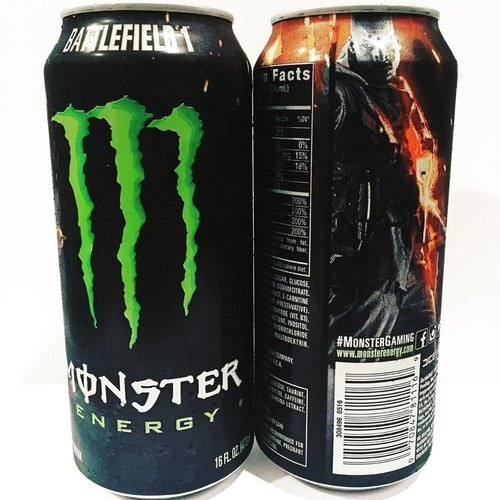 Normal Monster Energy Drinks