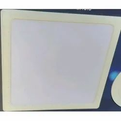 Square Pure White 5 W LED Slim Panel Light For Indoor, IP Rating: IP55