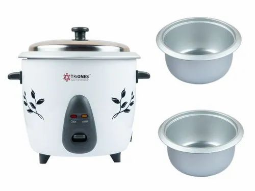 Triones Electric Rice Cooker 1.8ltr (Double  Bowl)