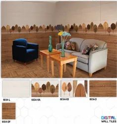 6034 (L, HA, HB, D, DF) Hexa Ceramic Digital Wall Tiles