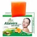 Aloe Vera Orange Soap (Improves Skin Texture)