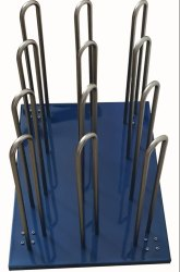 Opticure Stand Vynyl Roll Organizer, Size: 24
