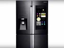 Grey Smart Refrigerator