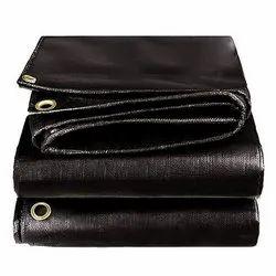 Black Belt Plastic Film HDPE Waterproof Tarpaulin Sheet, Packaging Type: Bundle, Size: Upto 10000 Sqft