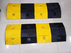 Road Safety Rubber Speed Breaker 47mm
