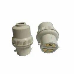 PVC Lamp Holder Screw Socket Converter
