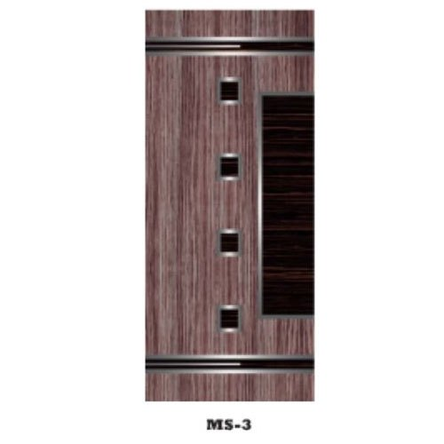 Brown Polished Traditional Wooden Door
