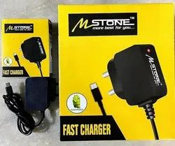 1 Meter Black Mobile Charger