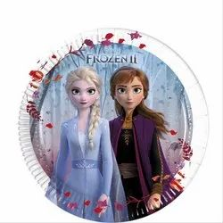 FROZEN Cartoon Character Party Paper Plates