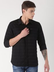 Full Sleeve Slim Fit Stagbeetle Plain Shirt