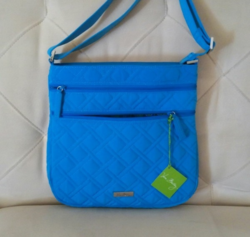 Blue Trendy Parachute Side Sling Bag