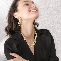 Long Fashion Stud Design Hanging Earrings for Women