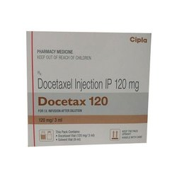 DOCETAX 120MG 3ML