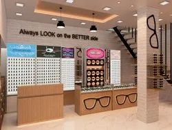 International Look Optical Showroom Design - New