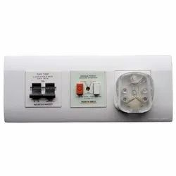 White Wipro Box Type AC Modular Switch Board