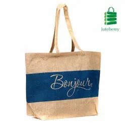 Laminated Jute Shopping Bag