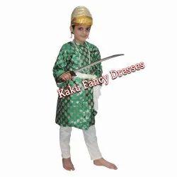 Gujarati Boy Green Dress