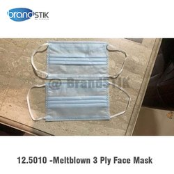 Disposable 3 Ply Melt Blown Mask, For Medical and Personal Use