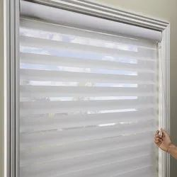 PVC Vertical Triple Shade Blind, For Window
