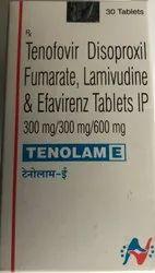 Tenolam E Tab (Tenofovir Lamivudine & Efavirenz)