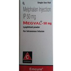 Megval 50mg Injection