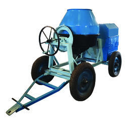 Manual Loading Concrete Mixer Without Hopper