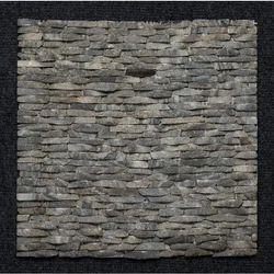 Black Granite Strip Pattern Wall cladding