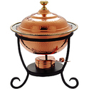 Copper Chafing Dish Full Size