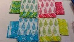 Sanganeri Block Print Cotton Unstitch Suit
