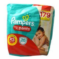 Pamper Baby Diaper, Pack Size: Regular