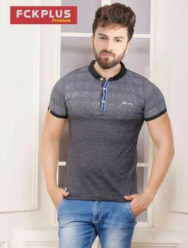 Men Fancy Polo T-Shirt
