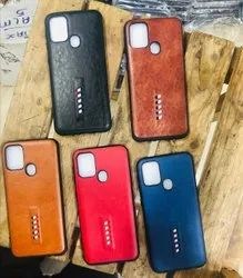 Multicolor Leather Mobile back cover