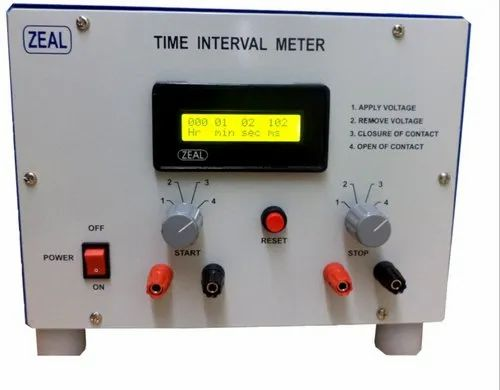 ZEAL Time Interval Meter mS, Model Name/Number: Zmtimms, for Laboratory