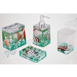 Acrylic Bath Set