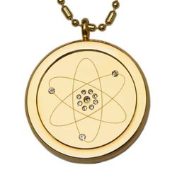 Golden MST Scalar Pendant