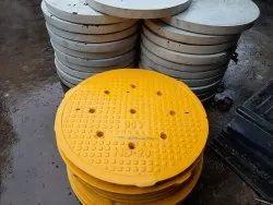 FRP 900 Dia HD Manhole Cover
