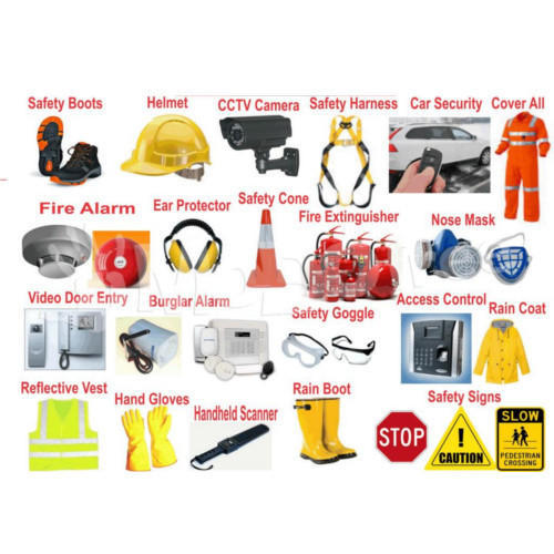 Safety Equipments Safety Devices सुरक्षा के उपकरण