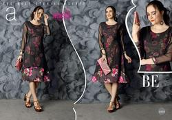 Ashsee Gulfam Series 1001-1007 Stylish Party Wear Georgette Kurti