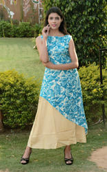 Double Layer Party Wear Kurti