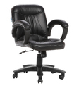 Black Workstation Chair (The Delantal Lb )
