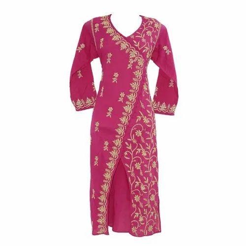 027dab54a8 Dark Pink Soft Cotton Kurti at Rs 450 /piece | पार्टी में ...
