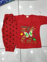 Printed Pc Cotton Dress For Baby Girl, Size: Small