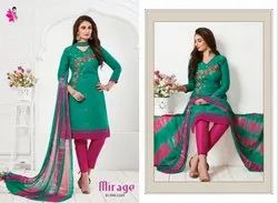 Khushika Embroidery Cotton Suit