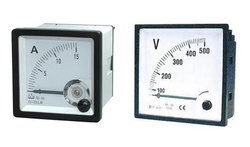AMMETER VOLTMETER ANALOG, for Industrial, Square