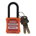 Paprsky With Key Ps-loto-ppnr-38 Dielectric Padlock, Padlock Size: 38 Mm