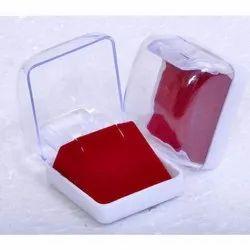 White Plastic Jewelry Box