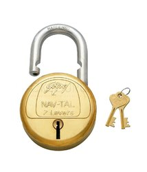 Godrej 7 Lever lock with 4 key
