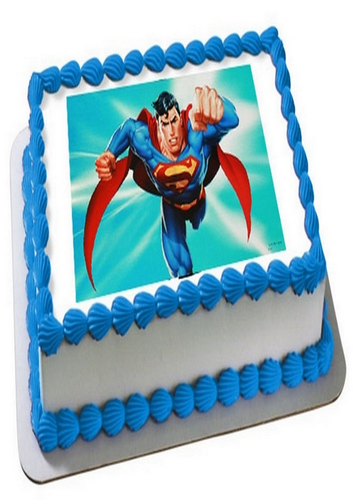Outstanding Wanors Vanilla Superman Photo Cake Packaging Type Box Rs 600 Funny Birthday Cards Online Bapapcheapnameinfo