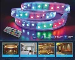 220V RGB Waterproof LED Strip Light