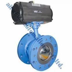 Pneumatic Flush Bottom Ball Valve